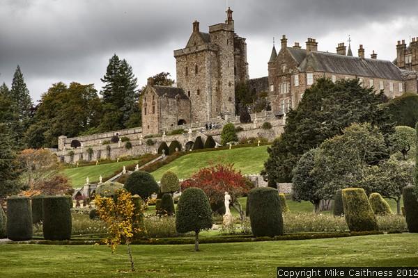 Michael caithness photography drummond castle gardens 2012